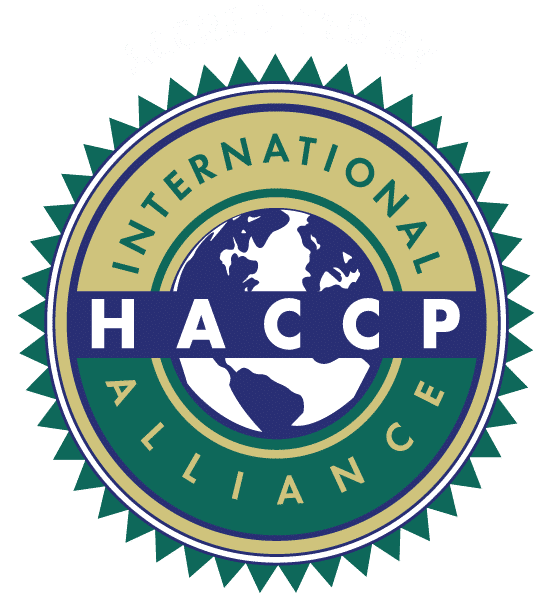 Accredited by the International HACCP Alliance